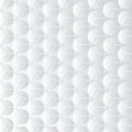 White background with hexagon and circle shapes Stock Photography