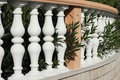 A white baluster Royalty Free Stock Photo