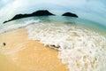 White Beach Sea Wave