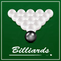 White billiard balls