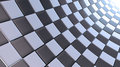 White and black checkers background Royalty Free Stock Images