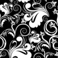 White and black seamless background Royalty Free Stock Photos