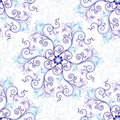 White-blue seamless pattern Stock Photos