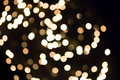 White bokeh lights photo of christmas or party Stock Photography