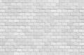 White brick stone wall seamless background Royalty Free Stock Photo