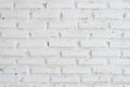The white brick wall background Stock Images
