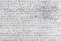 White brick wall background old Stock Photo