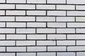 White brick wall. Background and textures photography