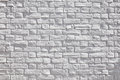 White brick wall old fragment Stock Photos