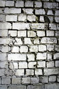 White brick wall texture Royalty Free Stock Photos