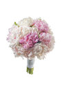 White bridal boquet 2 Royalty Free Stock Photo