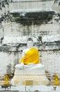 White buddha Royalty Free Stock Photography