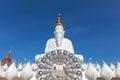 White Buddha statue at Wat Pha Sorn Kaew. Wat Pha Sorn Kaew or W