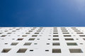 White building on blue sky thailand Royalty Free Stock Photos