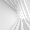 White Building Construction. Minimal Office Interior Design Royalty Free Stock Photo