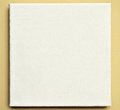 White canvas on the wall Royalty Free Stock Photo