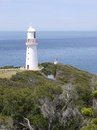 The white cape otway lighthouse on in southern victoria in australia Stock Image