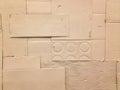 White carton crepe-paper texture Stock Photos