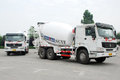 White Cement Mixer Truck Royalty Free Stock Photos