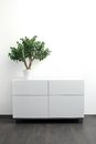 White Chest Of Drawers With Fl...