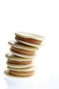 White Chocolate Macaroons Royalty Free Stock Image