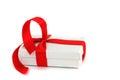 White christmas gift Royalty Free Stock Photo
