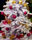 White Christmas tree Royalty Free Stock Photo