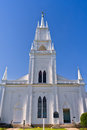 White church Royalty Free Stock Photography