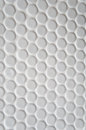 White circle tile pattern with for background Royalty Free Stock Image