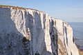 White cliffs of dover seven sisters south east england Stock Image