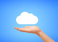 White cloud high resolution image of Royalty Free Stock Photos
