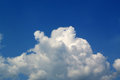 White clouds and Blue sky Royalty Free Stock Image