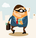 White Collar Crime Royalty Free Stock Photography