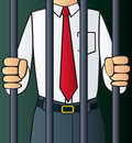 White Collar Criminal Stock Photo