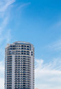 White Condo Tower Under Blue Tropical Sky Royalty Free Stock Photo