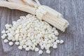 White corn Royalty Free Stock Photo