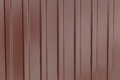 White Corrugated metal texture surface or galvanize steel background. Royalty Free Stock Photo