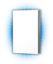 White cover book d rendering Stock Image