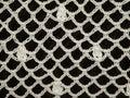White crochet Stock Photo