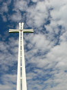 White cross Royalty Free Stock Photo