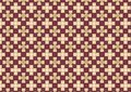 White Cross Chequered Pattern Stock Images