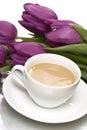 Blanco taza de café