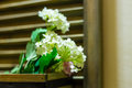 White Decorative Flowers At Home