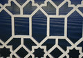 White Decorative Metal Grille Stock Image