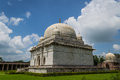White dome hoshang shah s tomb india s first marble structure it is one of the most refined examples of afghan architecture its Royalty Free Stock Photography