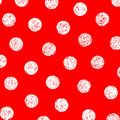 White dots on red Royalty Free Stock Photography