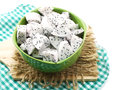 White dragon fruit high nutrient cut in ceramic bowl selective focus piece of Stock Photography