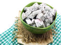 White dragon fruit high nutrient cut in ceramic bowl selective focus piece of Stock Image