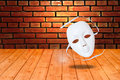 White drama masks Royalty Free Stock Photo