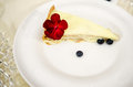 White duchess dessert made of baked layers and vanilla cream Royalty Free Stock Photography